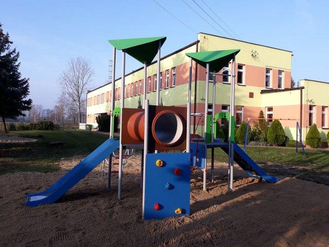 . Zrealizowane inwestycje w Zespole Szkolno – Przedszkolnym w Woli Wiązowej