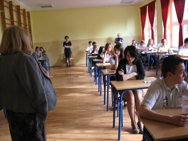 . Egzamin gimnazjalny  kwiecień 2011