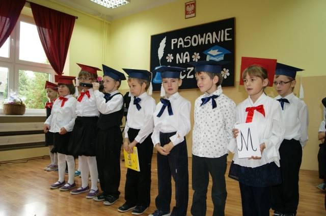 . Pasowanie uczniów 2011/2012