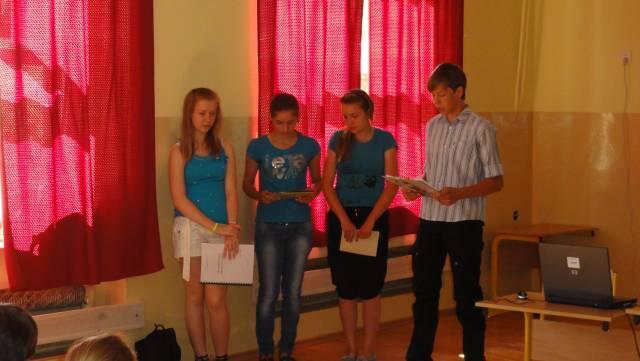 . Projekty uczniowskie 2011