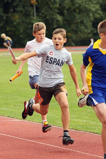 . Zawody lekkoatletyczne w Kleszczowie